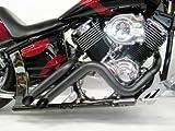 Yamaha V Star 1100 Curburner Exhaust (Black)...