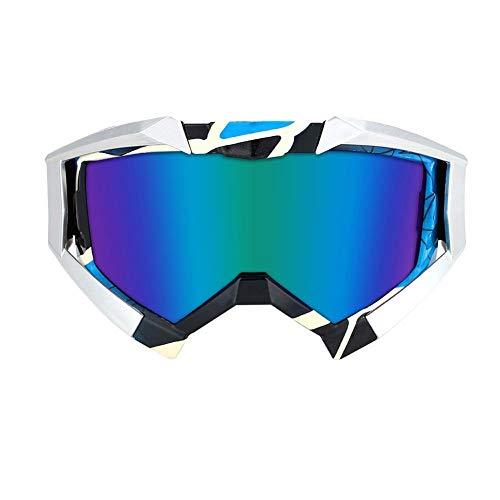 anruo Skibril wind spiegel rijden buitensporten sneeuw berg anti-condens bril fiets snowboard winddicht