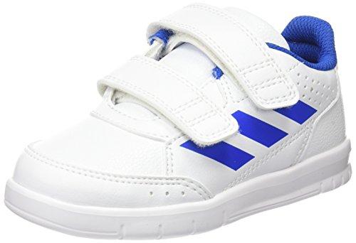 adidas Altasport CF I, Zapatillas Unisex Niños, Blanco (Footwear White/Blue/Footwear White 0), 25 EU