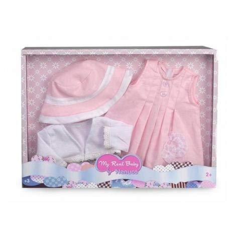 Nenuco Ropita deluxe para muñeca, color rosa (Famosa 700013910)