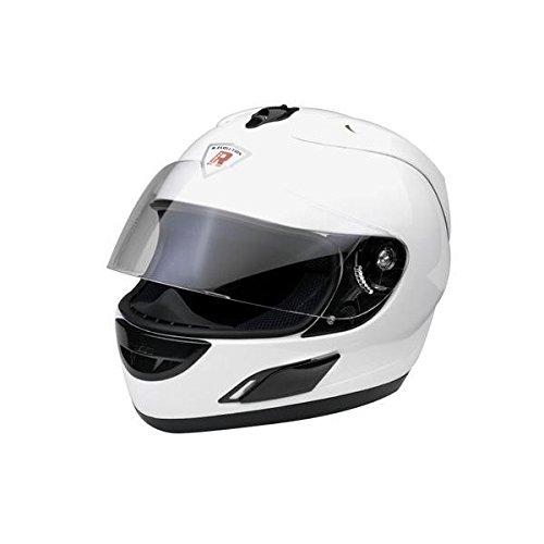 Bottari Motorradhelm Leox, Integralhelm, Pearl White, Größe XL