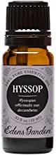 Edens Garden Hyssop Essential Oil, 100% Pure Therapeutic Grade (Highest Quality Aromatherapy Oils- Cold Flu & Menstrual Cramps), 10 ml
