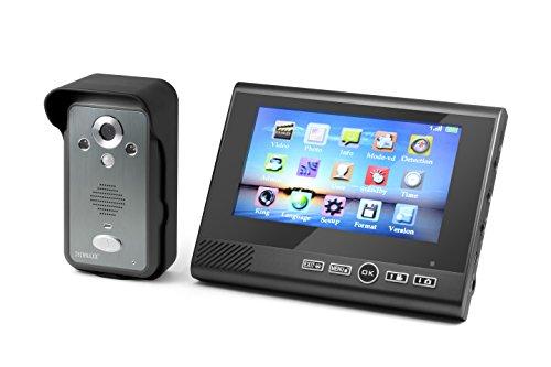 Technaxx TX-59 Wireless Video-Türklingel mit Kamera und LCD-Monitor 7