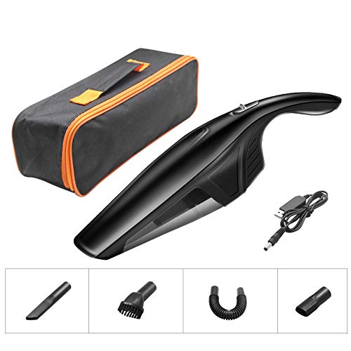 For Sale! @Y.T Hand-held Vacuum Cleaner Cordless, Portable Wet and Dry Dual-use Car Vacuum Cleaner, ...