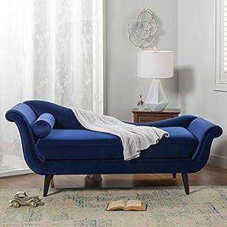 Sandy Wilson Home Kai Chaise Sofa, Navy Blue (B076QK46MC) | Amazon price tracker / tracking, Amazon price history charts, Amazon price watches, Amazon price drop alerts