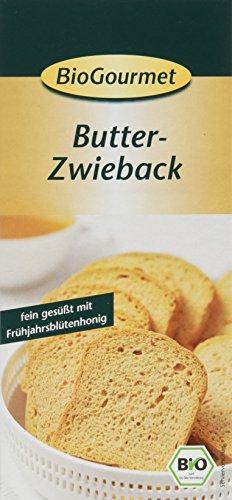 BioGourmet Butter-Zwieback, 6er Pack (6 x 150 g)
