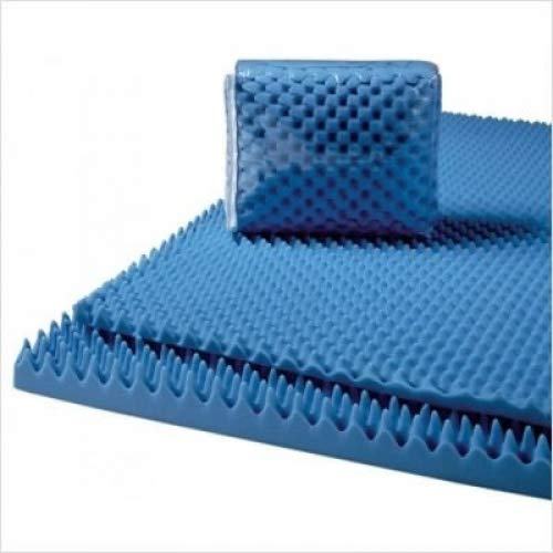 Convoluted Foam Mattress Pad, Lumex 7-3000EC, Size: King, Thickness: 3