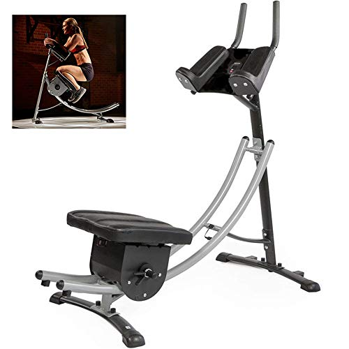 HHORD Ab Crunch Coaster Fitness Körper-Muskel-Training, ABS-Abdominal- Übungs-Maschine Mit LCD-Anzeige, Geeignet Für Büros, Balkone, Fitnessstudios