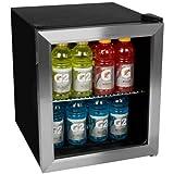 EdgeStar 冷蔵ショーケース/Beverage Cooler - Stainless Steel ステンレススチール【並行輸入品】