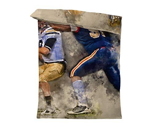 fotobar!style Bettbezug 135 x 200 cm American Football