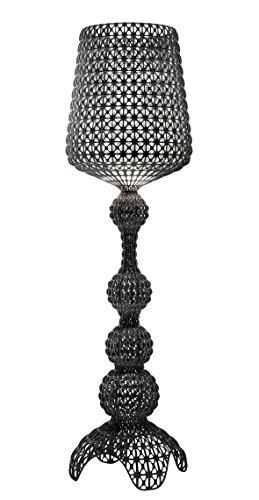 Kartell 0918509 Kabuki Lampe, Plastique/Tecnopolymère thermoplastique, Noir, Ø50 x 165