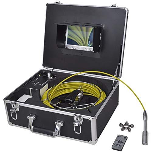 Endoskop-Kamera für Kanalisierung mit DVR Videoaufzeichnung mit Display Auflösung & 800 x 480 (HxV)