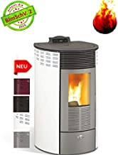 Kalor Estufa de pellets redonda Basci Line Mod. 10 Mit 8 Kw