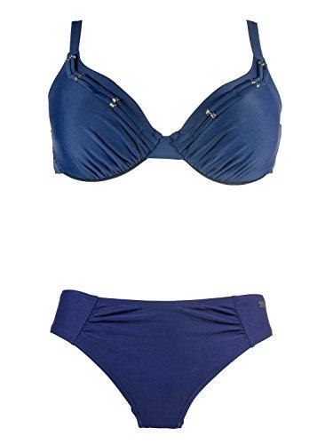Naturana Schalen Bikini 72481, 42B, Marine