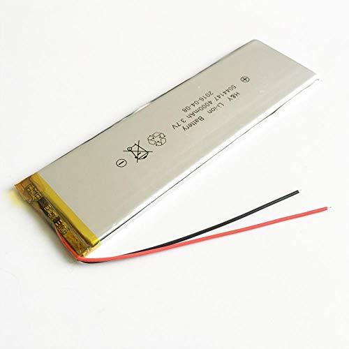 Dilezhiwanjuwu 3.7V 4000mAh 5044147 Li-Po Polymer Litio Recargable Celdas de batería para Tablet PC Banco de energía GPS PSP Pad DVD E-Books Laptop