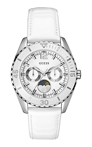 Guess Damen-Armbanduhr Chronograph Quarz Leder W0566L1