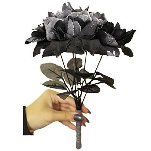 I LOVE FANCY DRESS LTD Accesorio DE Disfraz Ramo DE Rosas Negras COMPLETAR Disfraces DE Halloween O Novia Cadaver (1 Unidad)