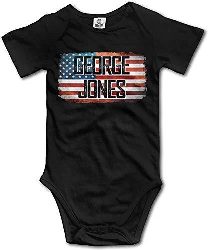 ngmaoyouxis George Jones American Pride Country Music Baby Onesie Nouveau-né vêtements bébé Tenues