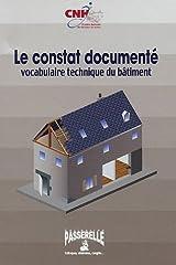 Le constat documenté: Vocabulaire technique du bâtiment Feuillets mobiles