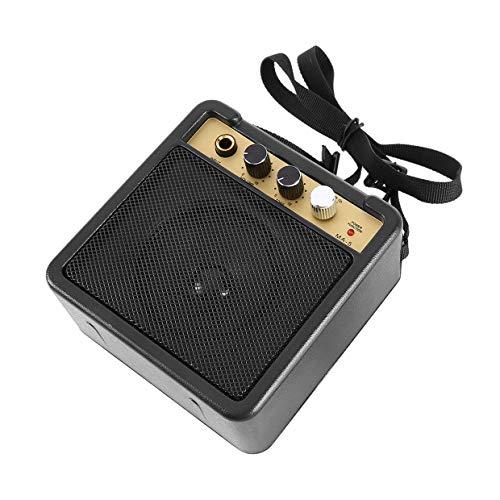 Qewmsg E-WAVE Mini Guitar Amp amplificador de guitarra con de nuevo clip de altavoces Accesorios Para Guitarra acústica de la guitarra eléctrica E-WAVE