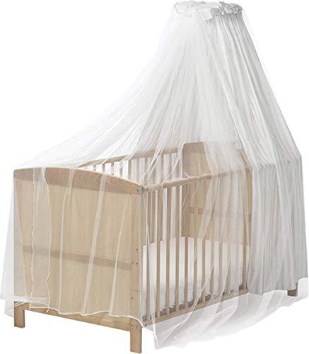 ReproducirShoes 601.003 mosquitera, mosquitero para las cunas, cama con dosel, blanco