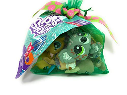Littlest Pet Shop LPS Lot Random Surprise Gift Grab Bag 7 Pets Dog Cat Mixed EUC