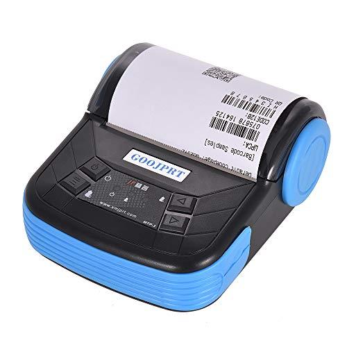 Aibecy Leggero portatile della stampante termica di 80mm BT di GOOJPRT MTP-3 per la ricevuta della...