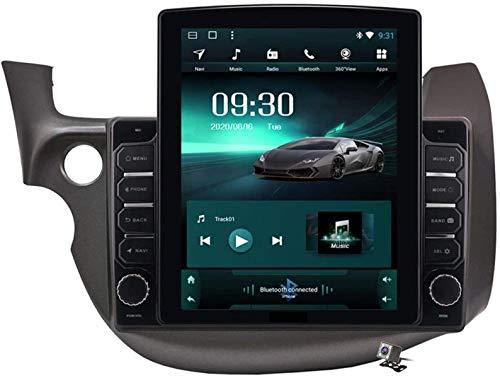 Schermo Verticale 9.7 Pollici Android 9.1 Lettore multimediale per Auto Honda Fit Jazz 2008-2013 LHD RHD, GPS Supporto Browser Autoradio USB BT Volante