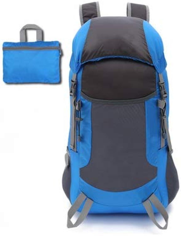NDYE Ultralight Waterproof Sports Climbing Bag Hiking Travel Trekking Backpacks Men Womens Outdoor Folding Mountaineering Backpack