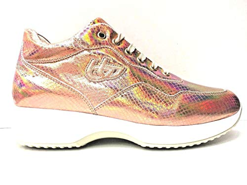 Byblos Scarpe Sneakers Donna BYACTIVE 822006 Pelle Originale PE New