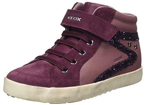 Geox B Kilwi Girl F B04, Sneaker Bimba 0-24, Rose Smoke/Prune, 23 EU