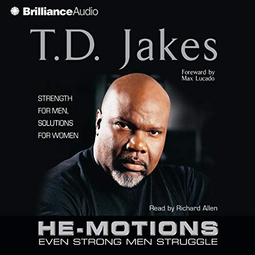 He-Motions audiobook cover art