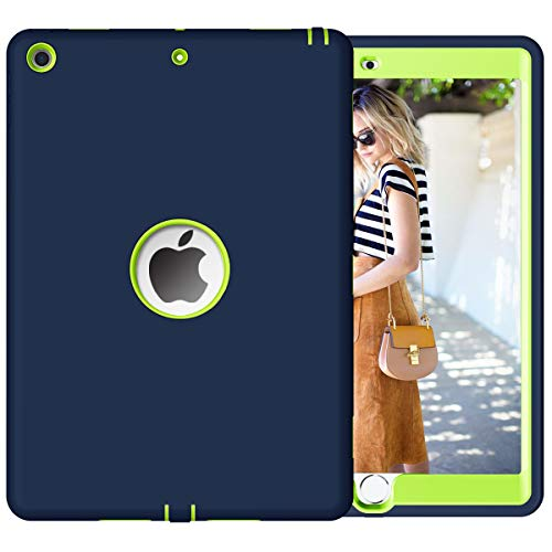 PIXIU Compatible with ipad 10.2 2020 case,ipad 10.2 2019 case,iPad 7th/8th Generation Case,Three Layer Heavy Duty Shockproof Protective Hybrid Denfer Case for ipad 10.2 inch …