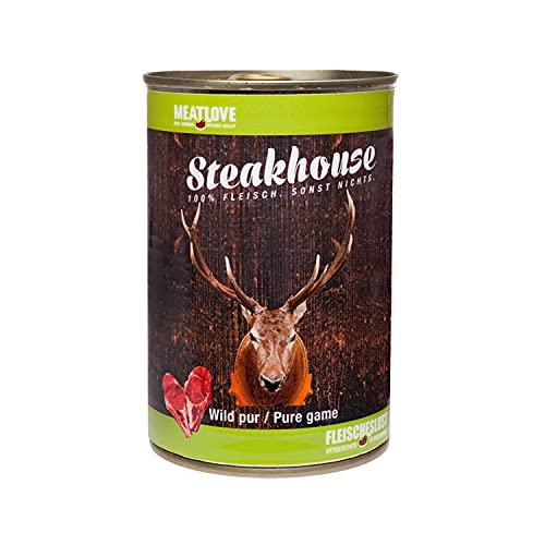Fleischeslust Steakhouse Wild Pur, 1er Pack (1 x 410 g)