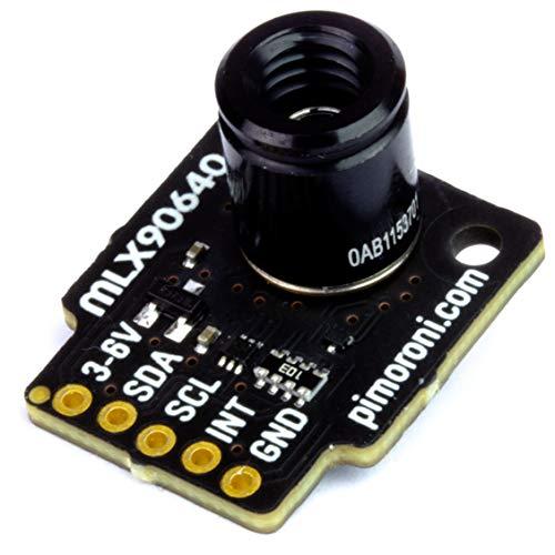 Pimoroni - MLX90640 サーマルカメラ ブレークアウト for Raspberry Pi or Arduino (01 標準 55°)
