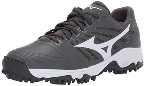 Mizuno 320595.9100.05.0600 Ambition All Surface Low Turf Shoe Grey-White (9100) 6 (0600)