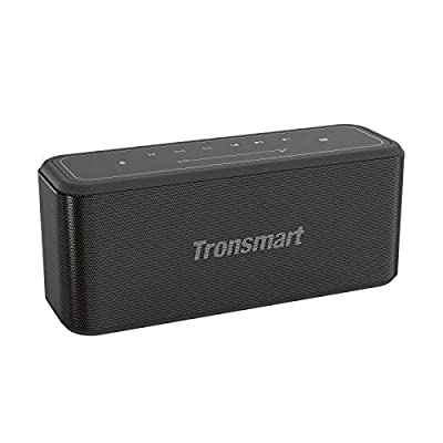 Bluetooth Speaker, Tronsmart Mega Pro 60W Wireless Speaker with Stereo Sound, Extra Bass, 10-Hour Playtime, 65-Foot Bluetooth Range 2.1 Channel Audio System, IPX5 Waterproof, NFC, LED Touch Control from Tronsmart