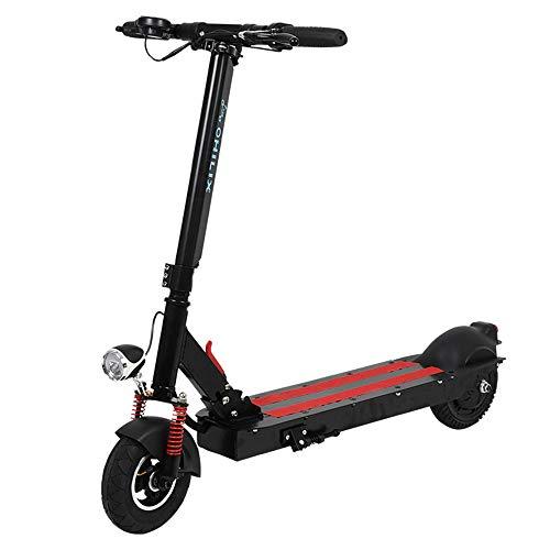 Elektrische step, inklapbaar, ultralicht, oplaadbare accu, E-scooter, met led-display en koplamp, voor volwassenen en jongeren.