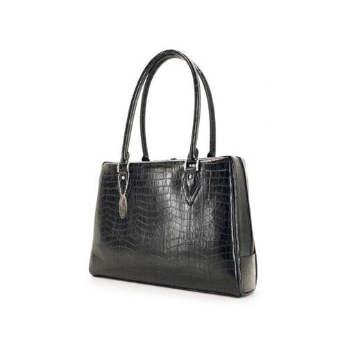 MOBILE EDGE 15.4 small milano notebook handbag (black)