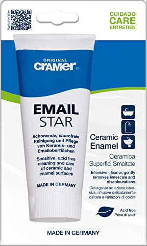 Cramer Email Star Emaille- und Keramikreiniger, 100 ml, Anleitung in englischer Sprache