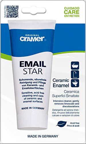 """Cramer Reinigungspaste/Polierpaste für Email-Oberflächen \""""Email-Star\"""" (2 in 1), 30100"""