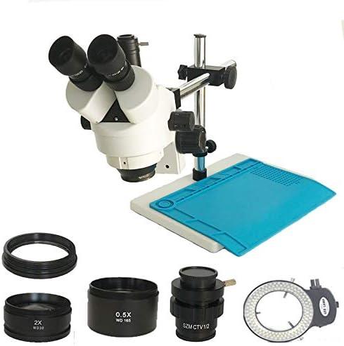 BINGFANG-W Microscopes 3.5X-90X Simul Stereo Max 57% OFF supreme Mi Focal Trinocular