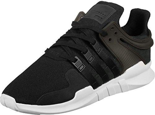 adidas adidas EQT Support ADV, Herren Turnschuhe, schwarz - Schwarz (Negbas/Negbas/Ftwbla) - Größe: 41 1/3