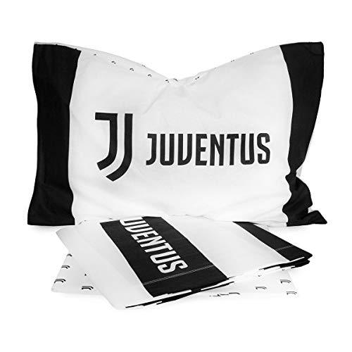 FC JUVENTUS - COMPLETO LETTO 1-1/2P NUOVO LOGO UNA PIAZZA E MEZZA