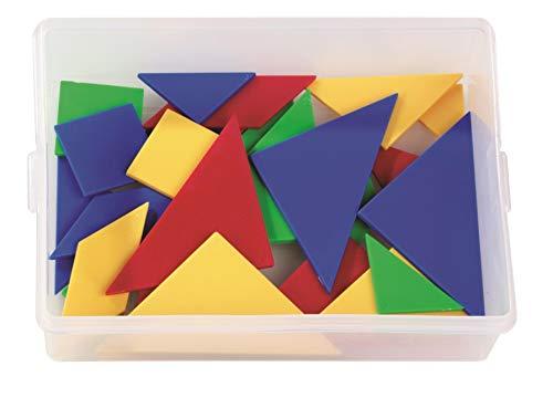 Betzold Tangram Material Mathematik Grundschule - Raumvorstellung Geometrie Logisches Denken geometrische Formen Lernspiel Mathematik Schule Kinder Lernen