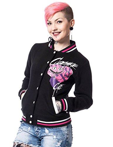 Cupcake Cult College-Jacke Alice Varsity Jacket schwarz Schwarz S