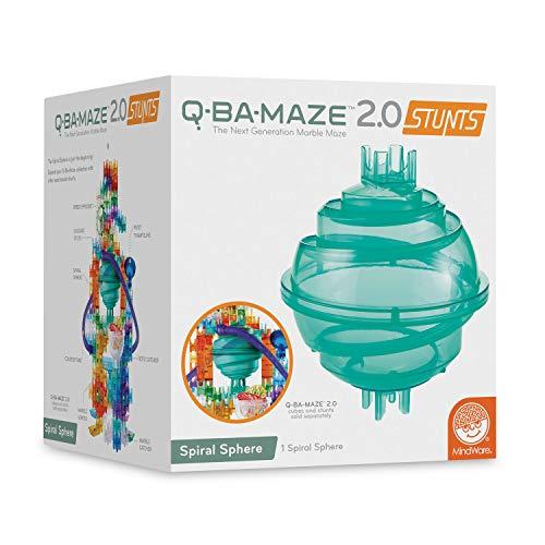 MindWare Q-BA-MAZE marble run: Sphere Stunt add-on Set