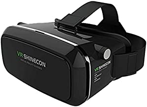 VR SHINECON hinecon89 3D Virtual Reality Goggles Headset, 3D Viewing Glasses with Pupil Focal Distance Adjustable Suitable for Google/iPhone/Samsung Note/LG/Huawei/HTC/Moto Screen