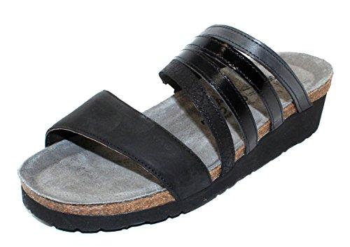 NAOT Women's Peyton Slide Sandals, Brown, 39 EU, 8-8.5 US M