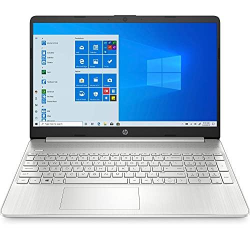 HP 15s-fq1111ns - Ordenador portátil de 15.6' FullHD (Intel Core i5-1035G1 , 12GB RAM, 1TB SSD, Intel UHD Graphics, Windows 10 Home 64) plata natural - Teclado QWERTY Español (Reacondicionado)